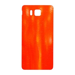 Abstract Orange Samsung Galaxy Alpha Hardshell Back Case