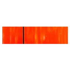 Abstract Orange Satin Scarf (oblong) by Modern2018