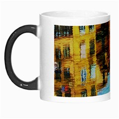 Architecture Art Blue Morph Mugs