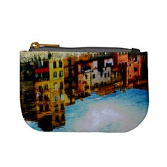 Architecture Art Blue Mini Coin Purses