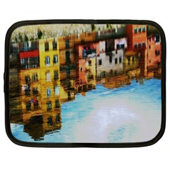 Architecture Art Blue Netbook Case (xxl)