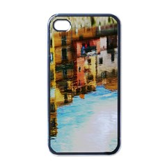 Architecture Art Blue Apple Iphone 4 Case (black)