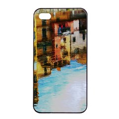 Architecture Art Blue Apple Iphone 4/4s Seamless Case (black)