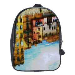 Architecture Art Blue School Bag (xl) by Modern2018