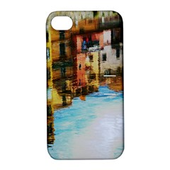 Architecture Art Blue Apple Iphone 4/4s Hardshell Case With Stand