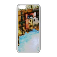Architecture Art Blue Apple Iphone 5c Seamless Case (white) by Modern2018