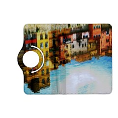Architecture Art Blue Kindle Fire Hd (2013) Flip 360 Case