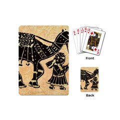 Antique Apparel Art Playing Cards (mini)