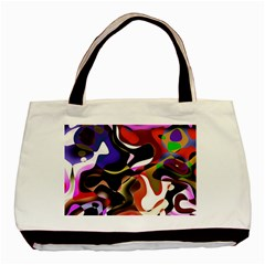 Abstract Full Colour Background Basic Tote Bag