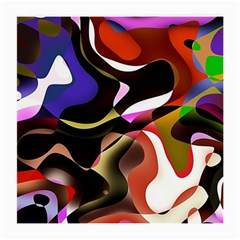 Abstract Full Colour Background Medium Glasses Cloth