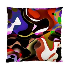 Abstract Full Colour Background Standard Cushion Case (one Side)