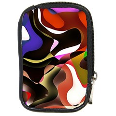 Abstract Full Colour Background Compact Camera Cases