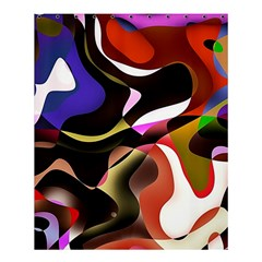 Abstract Full Colour Background Shower Curtain 60  X 72  (medium)