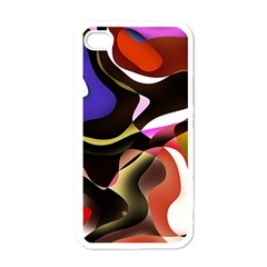 Abstract Full Colour Background Apple Iphone 4 Case (white)