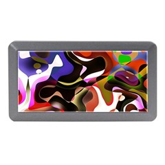 Abstract Full Colour Background Memory Card Reader (mini)