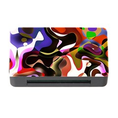 Abstract Full Colour Background Memory Card Reader With Cf