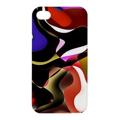 Abstract Full Colour Background Apple Iphone 4/4s Hardshell Case by Modern2018