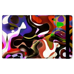 Abstract Full Colour Background Apple Ipad 3/4 Flip Case