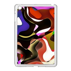 Abstract Full Colour Background Apple Ipad Mini Case (white)