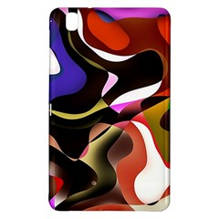 Abstract Full Colour Background Samsung Galaxy Tab Pro 8 4 Hardshell Case by Modern2018