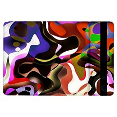 Abstract Full Colour Background Ipad Air Flip