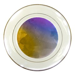 Abstract Smooth Background Porcelain Plates
