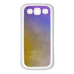 Abstract Smooth Background Samsung Galaxy S3 Back Case (white)