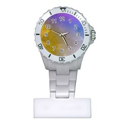Abstract Smooth Background Plastic Nurses Watch