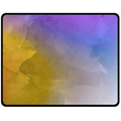 Abstract Smooth Background Double Sided Fleece Blanket (medium)  by Modern2018
