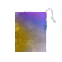 Abstract Smooth Background Drawstring Pouches (medium)