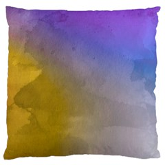 Abstract Smooth Background Large Flano Cushion Case (two Sides)