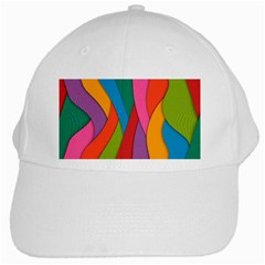 Abstract Background Colrful White Cap