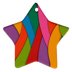 Abstract Background Colrful Ornament (star)