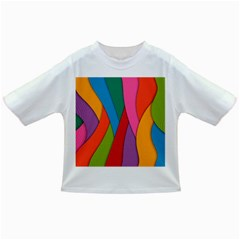 Abstract Background Colrful Infant/toddler T Shirts