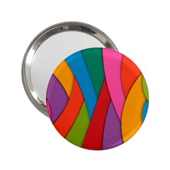 Abstract Background Colrful 2 25  Handbag Mirrors