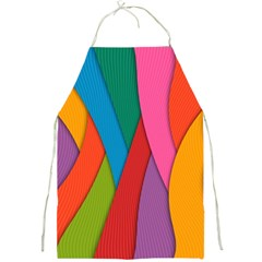 Abstract Background Colrful Full Print Aprons