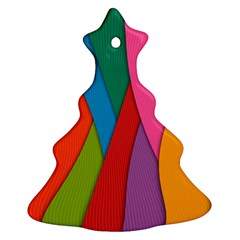Abstract Background Colrful Ornament (christmas Tree)
