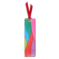 Abstract Background Colrful Small Book Marks
