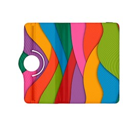 Abstract Background Colrful Kindle Fire Hdx 8 9  Flip 360 Case