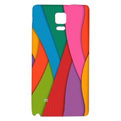 Abstract Background Colrful Galaxy Note 4 Back Case by Modern2018
