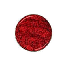Arranged Flowers Love Hat Clip Ball Marker (4 Pack)