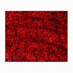 Arranged Flowers Love Small Glasses Cloth (2 Side)
