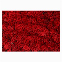Arranged Flowers Love Large Glasses Cloth (2 Side)