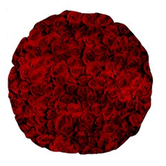 Arranged Flowers Love Large 18  Premium Round Cushions