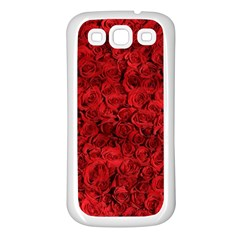 Arranged Flowers Love Samsung Galaxy S3 Back Case (white)