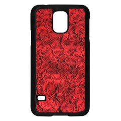 Arranged Flowers Love Samsung Galaxy S5 Case (black)