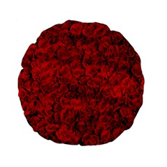 Arranged Flowers Love Standard 15  Premium Flano Round Cushions