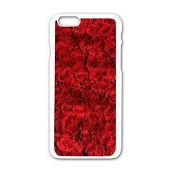 Arranged Flowers Love Apple Iphone 6/6s White Enamel Case