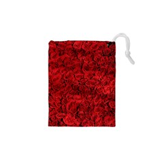 Arranged Flowers Love Drawstring Pouches (xs)