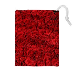 Arranged Flowers Love Drawstring Pouches (extra Large)